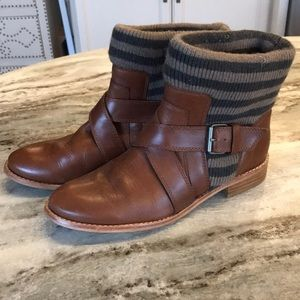 Splendid Striped Toronto Ankle Boots